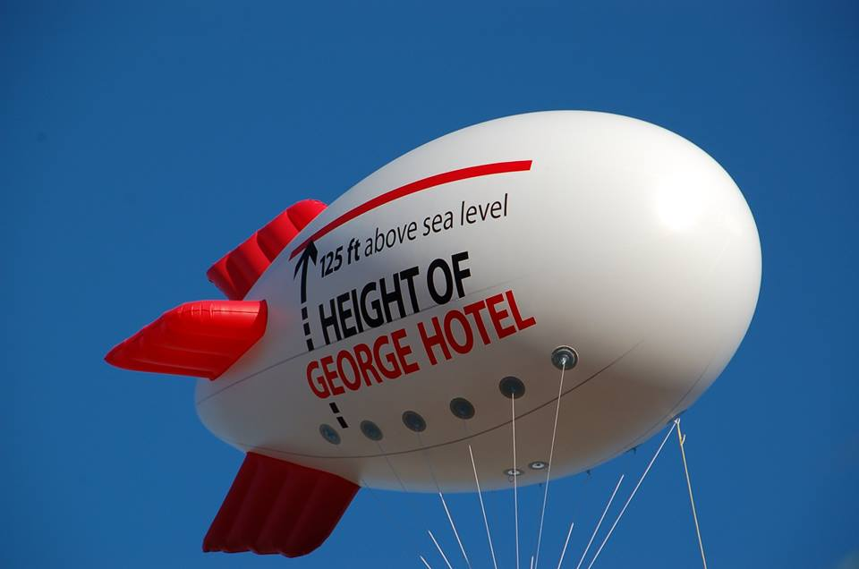 GEorge blimp photo